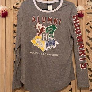 Tops - Harry Potter Hogwarts school crest long sleeve
